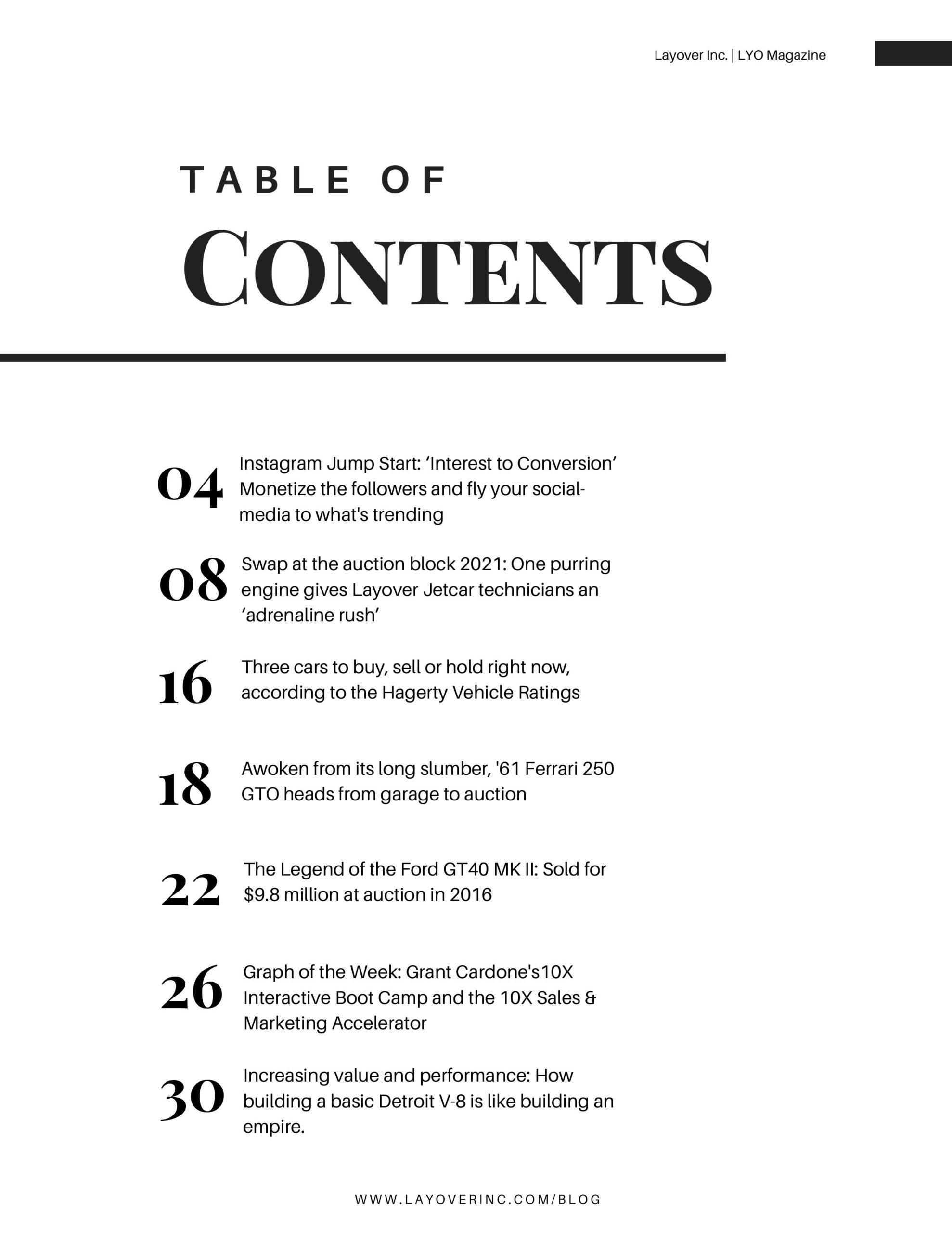 Minimalist Modern Travel Magazine-